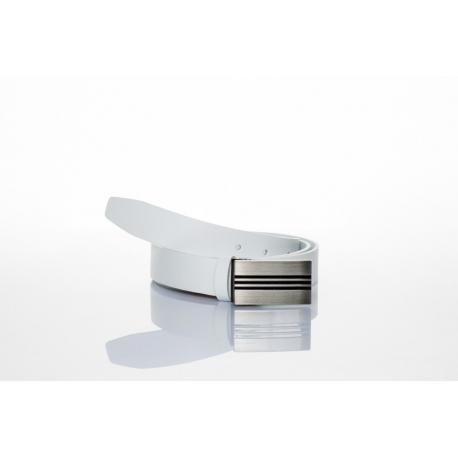 opasek bílý - šíře 3 cm